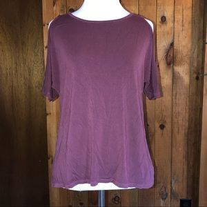 AE soft and sexy cold shoulder tee